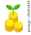 コインと新芽 26481839