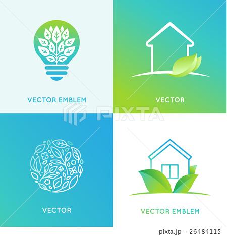 Vector set of logo design templatesのイラスト素材 [26484115] - PIXTA