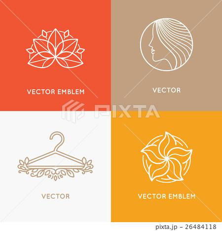 Vector set of logo design templatesのイラスト素材 [26484118] - PIXTA
