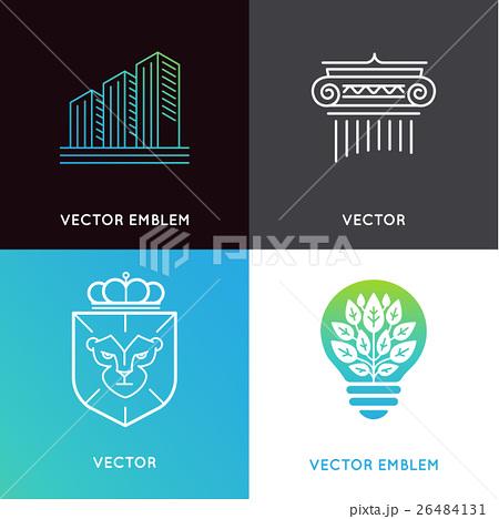 Vector set of logo design templates のイラスト素材 [26484131] - PIXTA