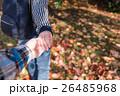 秋 デート カップルの写真 26485968