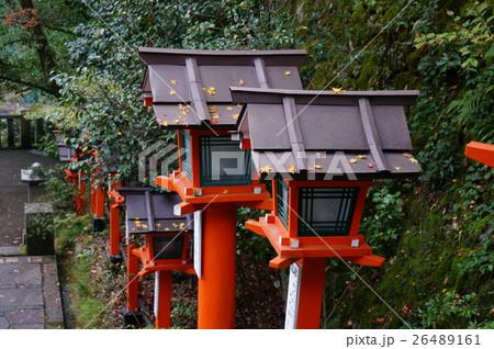 秋の鞍馬寺 26489161