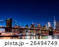 ニューヨーク ブルックリン 橋の写真 26494749
