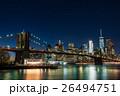 ニューヨーク ブルックリン 橋の写真 26494751