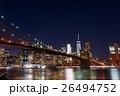 ニューヨーク ブルックリン 橋の写真 26494752