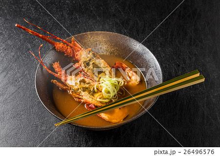 伊勢海老のみそ汁  Japanese high quality lobster 26496576
