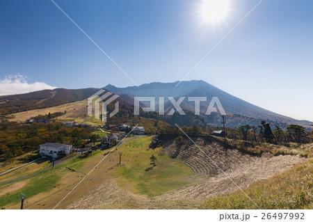 豪円山のろし台から眺めた大山 26497992