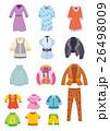 レディスショップ、子供服、婦人服、アイコン 26498009