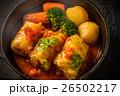 ロールキャベツ 肉料理 洋食の写真 26502217