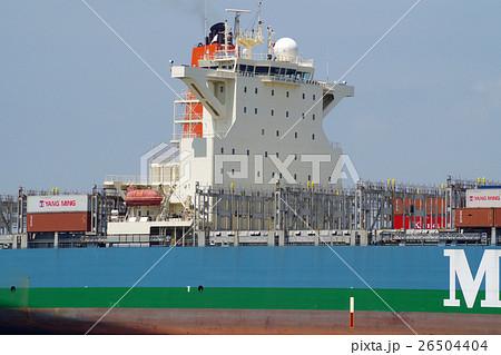 大型コンテナ船の船橋 26504404