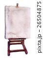 アート 芸術 カンバスのイラスト 26504875