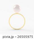 真珠の指輪のCG 26505975