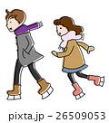 スケートカップル 26509053