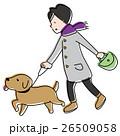 ペット散歩 26509058