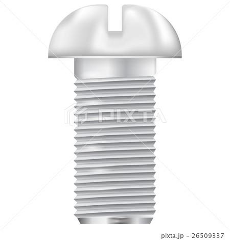 Metal bolt. Screw icon. Vector illustrationのイラスト素材 [26509337] - PIXTA
