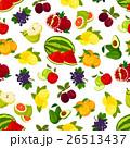 くだもの フルーツ 実のイラスト 26513437