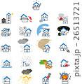 ベクター 住宅 保険のイラスト 26513721