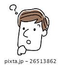 表情 ベクター 男性のイラスト 26513862