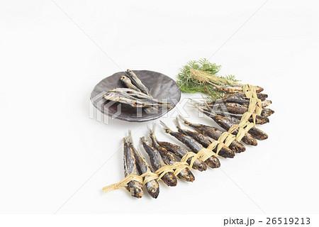 食材 乾物 焼きあごの藁編みとあごの煮干し 26519213
