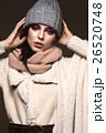 モデル 女 女の人の写真 26520748