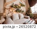 リビングルーム クリスマス 装飾の写真 26520872