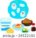 乳酸菌を含む食品と乳酸菌のイメージ 26522192