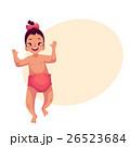 女児 かわいい キュートのイラスト 26523684