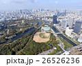 大阪城とOBPを空撮 26526236