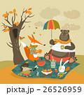 ベクトル くま クマのイラスト 26526959