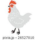 鶏 鳥 年賀状素材のイラスト 26527010