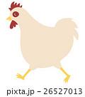 鶏 鳥 年賀状素材のイラスト 26527013