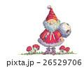 サンタクロースとキノコ 26529706