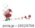 サンタクロース キノコ 雪のイラスト 26529708