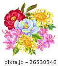 フラワー 花 花束のイラスト 26530346