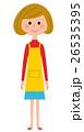 エプロンの女性  26535395
