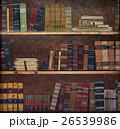 Antique book on a shelf 26539986