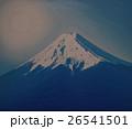 油絵富士吉田からの富士山 26541501