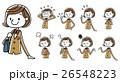 ブレザー 中学生 高校生のイラスト 26548223