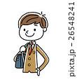 ブレザー 中学生 高校生のイラスト 26548241