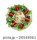 サラダ 生野菜 野菜サラダの写真 26549361