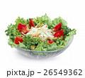 サラダ 生野菜 野菜サラダの写真 26549362