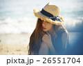 女性 南国 旅行の写真 26551704