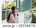 女性 冬 寒いの写真 26556678