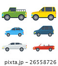 Passenger Cars Cartoon Vector Models Collection 26558726