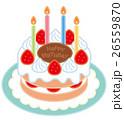 誕生日 ケーキ 26559870