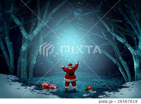 Magical Santa Claus Background 26567619