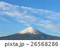 青空と棚引く白い雲 そして富士山 26568286