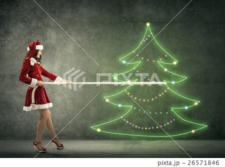 It is Christmas comingの写真素材 [26571846] - PIXTA