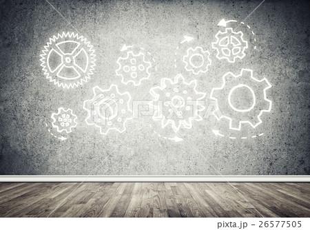 Gear mechanism as teamwork conceptの写真素材 [26577505] - PIXTA