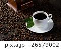 コーヒー コップ 黒色の写真 26579002
